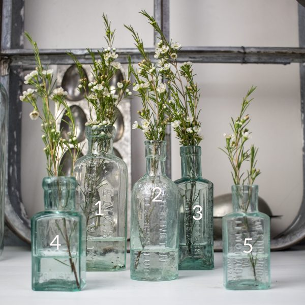 Bild zeigt Viktorianische Drogerie Flasche