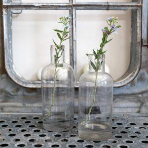Glasflasche alt aus Frankreich